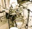 drummer in studio